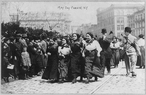 May Day Parade, New York, 1910