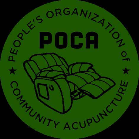 POCA dark green logo